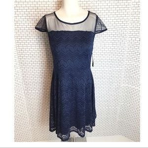 💥50% Off Retail. NWT Blue Lace Dress.